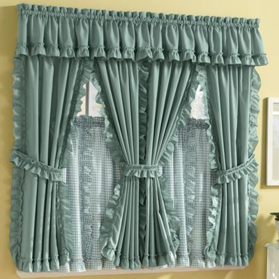 Mayfield cape cod window treatments in solid pattern for Professional window treatment patterns
