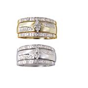 3 Piece Diamond Bridal Ring Set