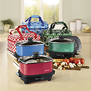 West Bend 5-Quart Versatility Slow Cooker with Travel Bag