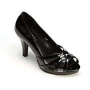 Patent Peep-Toe Pump by Monroe & Main