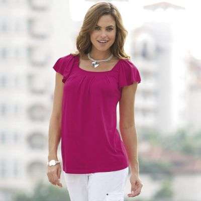 Easy, Pleated Top