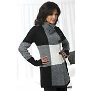 Block Sweater Coat