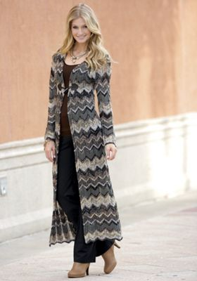 City Chic Duster Sweater