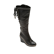 Back Lace-Up Boot by Monroe & Main