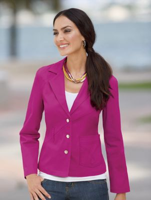 Bright Denim Jacket