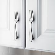 Set Of 4 Flatware Cabinet Handles