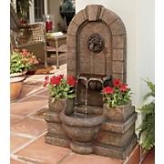 Fountain W  Planters