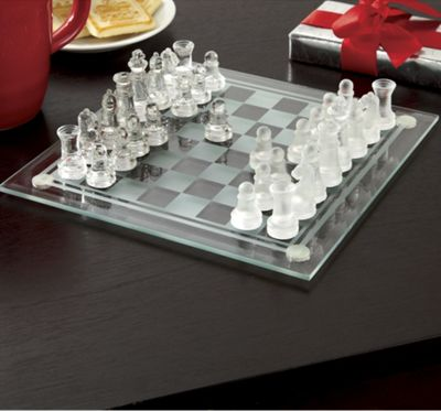 Glass Chess Set From Ginny 39 S 60830