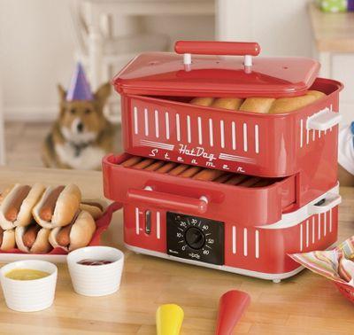 Hot Dog Steamer by Cuizen<sup class='mark'> &reg;</sup>