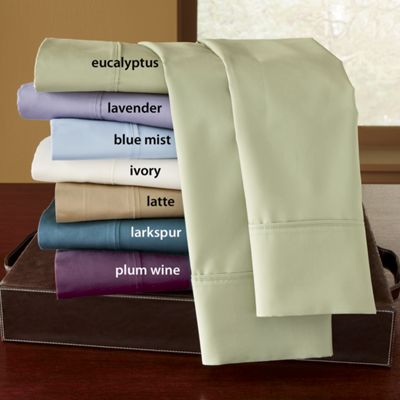 600-Thread Count Cotton/Polyester Sheet Set