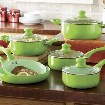 Ginnys Brand 10 Piece Cookware Set From Ginny S Ji61514