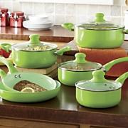 Ginny's Brand 10-Piece Cookware Set