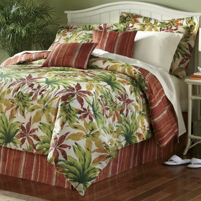 Sarasota Complete Bedding, Pillow, Shams and Window Treatments