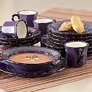 Ruffle 16-piece Dinnerware Set