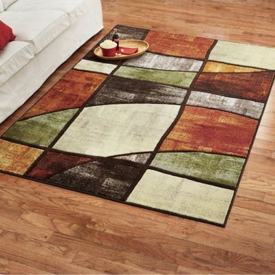Bright Abstract Rug