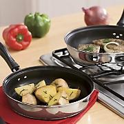 Ginny's Brand Set of 2 Portobello Fry Pans