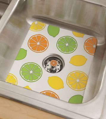 Citrus Sink Mat & Strainer