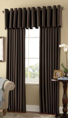 'Warm Welcome' Grommet Window Treatments
