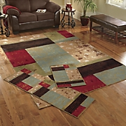 Elemental Panels 3-Piece Rug Set