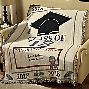 Cotton Graduation Throw