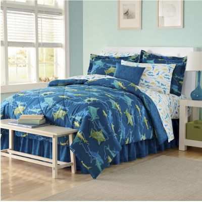 Fun and Fabulous Bedding Set and Window Treatments