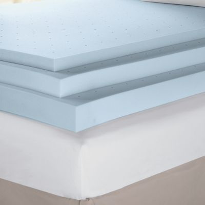 4 Inch Sensorpedic Ventilated Memory Foam Support Topper