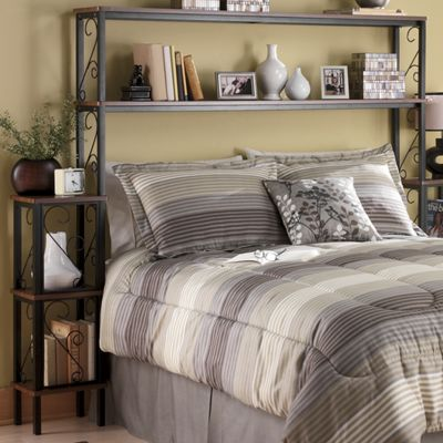 Headboard storage unit from ginny 39 s 64234 for Headboard storage unit