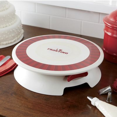 Cake Decorating Turntable Tesco : Cake Boss Decorating Turntable from Seventh Avenue 64560