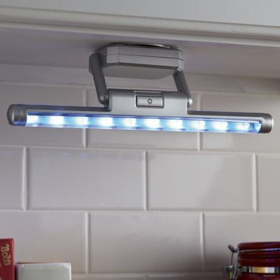 Battery-Powered Under-Cabinet LED Light