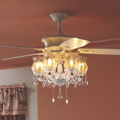 Romantic ceiling fan from midnight velvet vi65065
