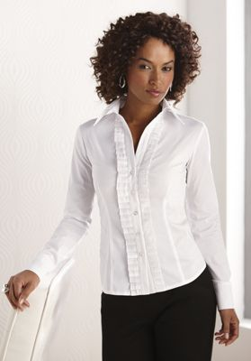 Pleat Front Shirt