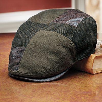 Patchwork Cabbie's Cap