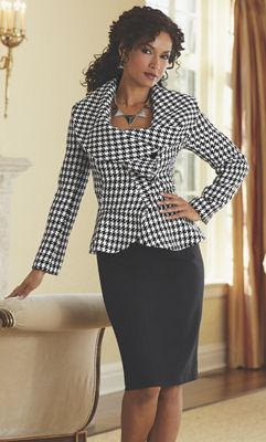 Laurette Houndstooth Suit