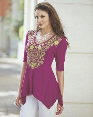 Priya Embroidered Tunic
