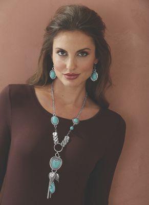 Southwest Necklace/Earring Set