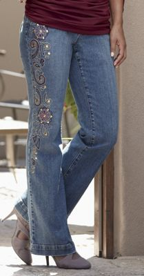 Argentina Embroidered Jean