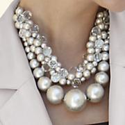 Silvertone Necklace
