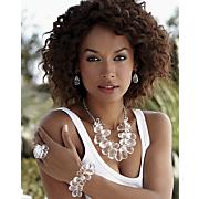 Briol/Acrylic Cluster Stretch Jewelry