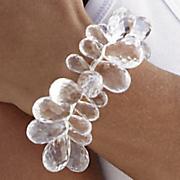 Stretch Bracelet Briol Acrylic Cluster