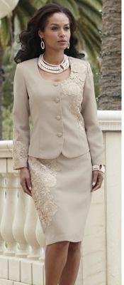 Garbo Lace Suit
