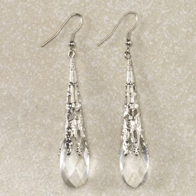 Briolette Droplet Earrings