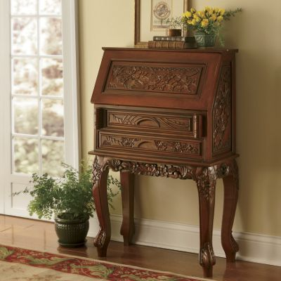 Carved Secretary