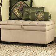 Pillow-Top Storage Bench