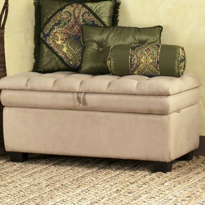 Pillow-Top Storage Bench