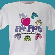 My Heart Flip Flops For My Tee