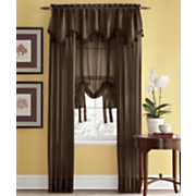 tonal stripe sheer window treatments 90