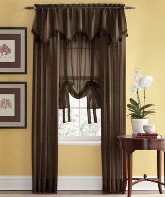 Tonal Stripe Sheer Window Treatments