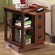 Revolving End Table
