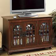 Arched 3-Door TV Stand