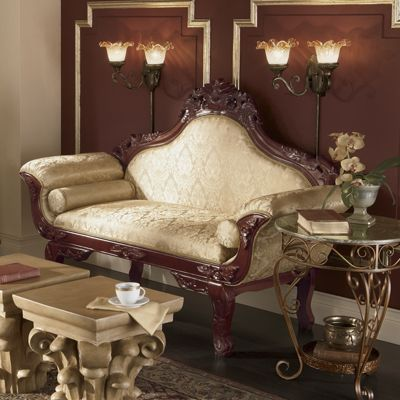 Carved Loveseat From Midnight Velvet 71315